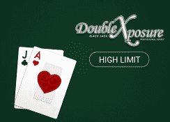 Double Exposure Blackjack Professional Series (High Limit)