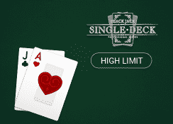 Single Deck Blackjack Professional Series (High Limit)
