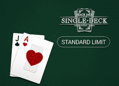 Single Deck Blackjack Professional Series (Standard Limit)