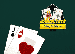 Single Deck BlackJack MH